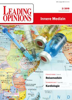 LEADING OPINIONS Innere Medizin 2019/2