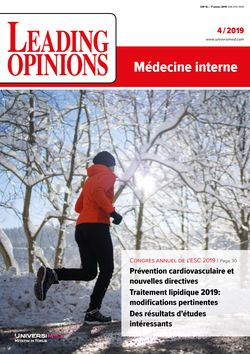 LEADING OPINIONS Médecine interne 2019/4