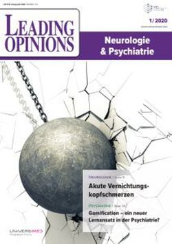 LEADING OPINIONS Neurologie & Psychiatrie 2020/1